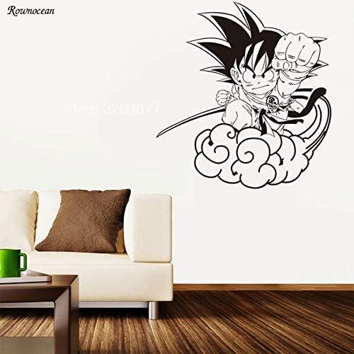 Tianpengyuanshuai Nube de Dibujos Animados Etiqueta de la Pared de ...