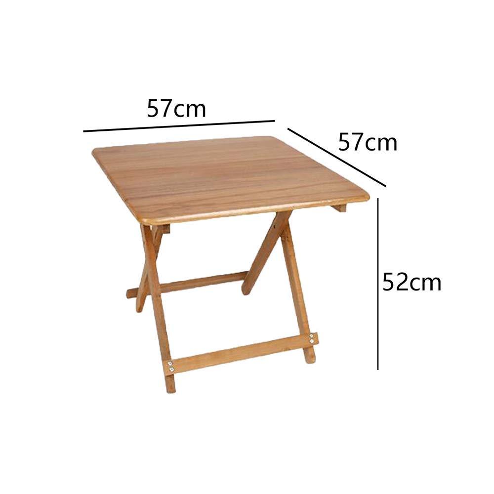DBL Bärbart bord utomhus makeuppall modernt utseende konferensstol kontor miljö mottagningsrum massivt trä skrivbordsstolar (färg: Fyrkant h 50 cm) Square-h52cm