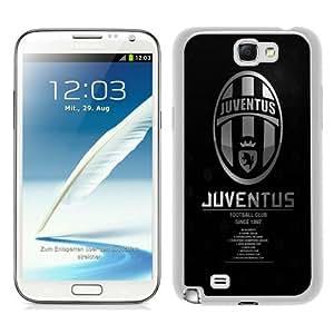 PAN Personalized Design juventus logo White Samsung Galaxy Note 2 7100 Case