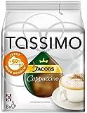 Tassimo Jacobs Krönung Cappuccino , 1er Pack (1 x 8 Portionen) - Auslaufartikel