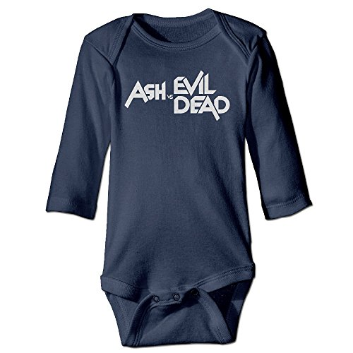 Tara Ash Vs Evil Dead For 6-24 Months Newborn Romper Jumpsuit For 6-24 Months 24 Months Navy (Vtech Toddler Headphones)