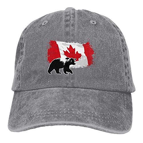Denim Hat Female Baseball Caps Yuting béisbol Adjustable Maple Bear Canada Gorras RYgqwUX