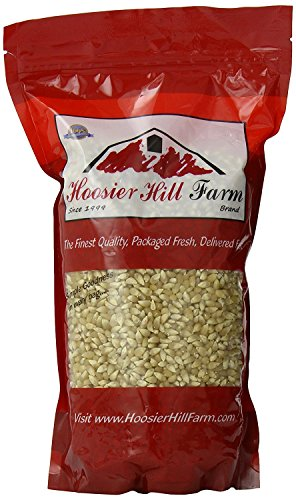Hoosier Hill Farm Fancy Baby White Popcorn, 3 Pound - White Popping Corn