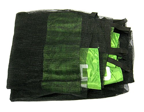 HUDORA 1 Fangnetz (Sicherungsnetz) für Trampoline 244 cm, grün s4ZEC1