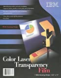 250 IBM Transparency Film Sheets for Color Laser Printers, With Sensing Stripe