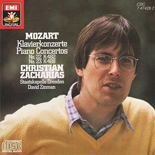W. A. Mozart: Piano Concertos No. 22 & 23 (Album Concertos Cd Piano)