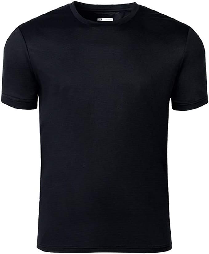 Running /& Fitness Schwarz f/ür Training Atmungsaktives Schnelltrocknend Kurzarmshirt Zenph Sports T-Shirts Cool-Dry Funktionsshirt