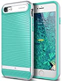 iPhone 7 Case, Caseology [Wavelength Series] Modern Slim Fit Flexible Drop Protection [Mint Green] [Tactile Grip] for Apple iPhone 7 (2016)