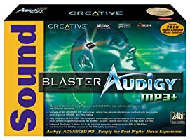 Creative Labs Sound Blaster Audigy MP3+ Sound Card