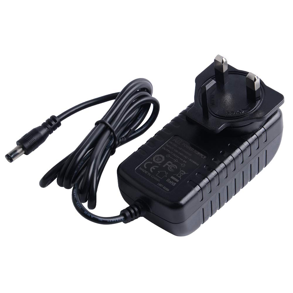 GeeekPi DC 5V 4A Travel Power Adapter with US/&EU/&UK Plug for Raspberry Pi X820//X825 SATA Expansion Board// X700 UPS// X720// X735 Power Management Board//Jetson Nano//X822//X852//T300//T100//T200//X750