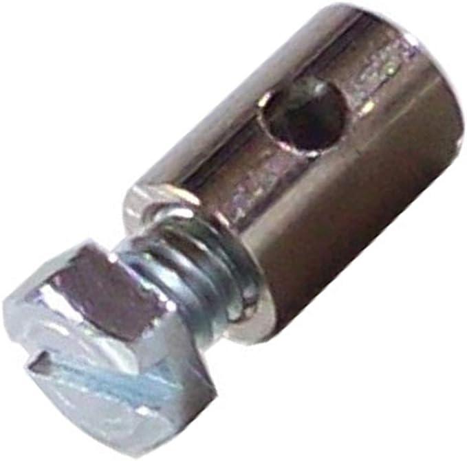 BIKE ADJUSTABLE CABLE ADJUSTER D8L15 BARREL CLAMP BRAKE GUIDE END STOP MOTORBIKE