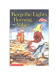 Paperback Keep the Lights Burning, Abbie (Reading Rainbow Book) Book