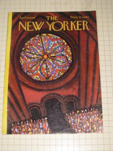 The New Yorker (1966) Kraus - Isaac Babel - L. Woiwode - Sigmund Warburg -