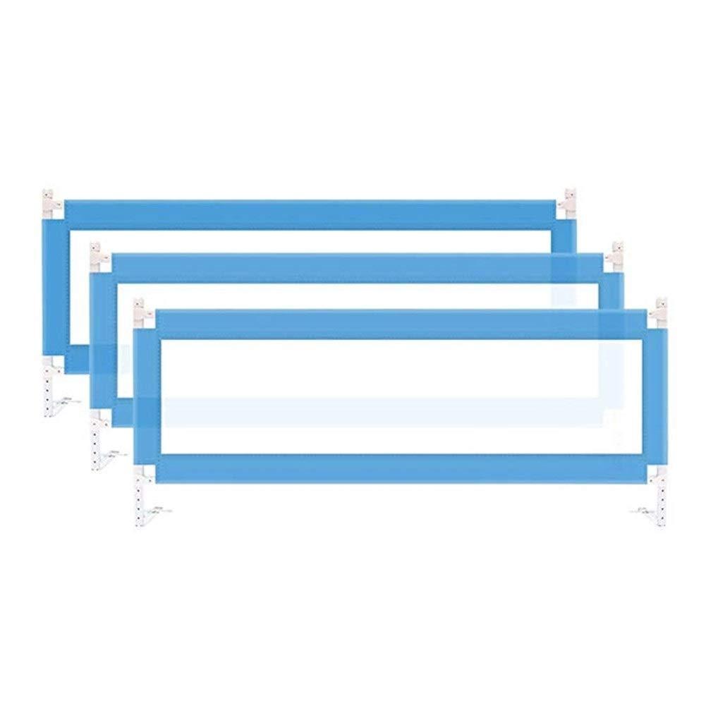 DQMSB Sicherheitsbett Geländer for Doppelbett, Doppelbett Und Kingsize-Matratze (Size : 2m+2m+2m)