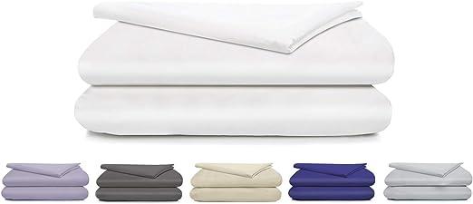Crisp Boston Linen Co and Breathable Long-Staple Combed Cotton Luxury Finish 4 Piece Set 300 Thread Count Percale 100/% Cotton Sheet Set Durable Queen Beige