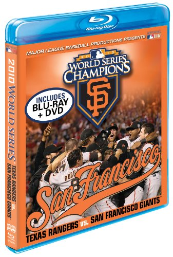 2010 San Francisco Giants: The Official World Series Film [Blu-ray + DVD Combo] by Football Fanatics