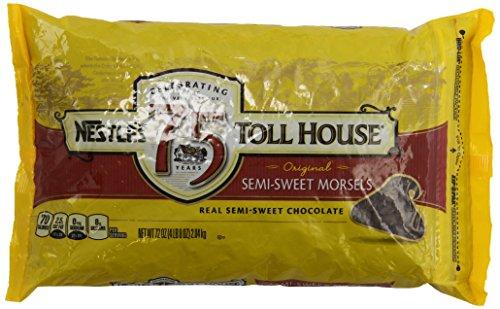 Nestle Chocolate Semi-Sweet Morsels - 72 oz. bag