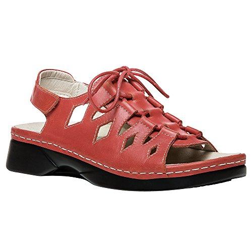 Propet Kvinders Ghilliewalker Platform Kjole Sandal Koral jG4qGiVI