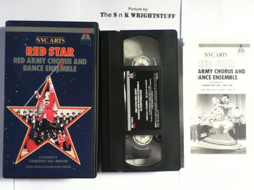Red Star:  Red Army Chorus and Dance Ensemble in Performance at Tchaikovsky Hall, Moscow [VHS]