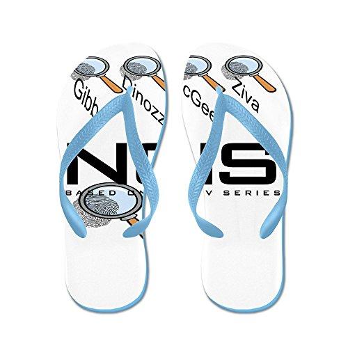 Cafepress Agenten Van Ncis - Flip Flops, Grappige String Sandalen, Strand Sandalen Caribbean Blue