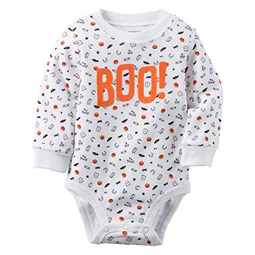 UPC 888767827692, Carter's Unisex Baby Bodysuits, White, 6 Months