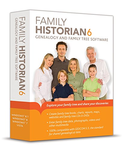 Family Historian 6 Genealogy and Family Tree (Multimedia Software)