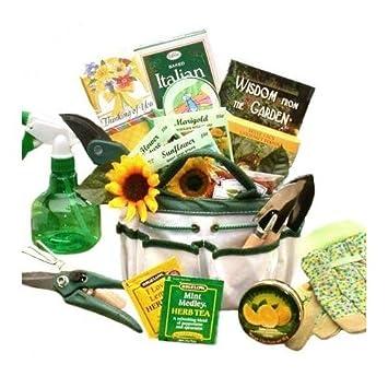 Weekend Gardener Tote Gift Basket For Women