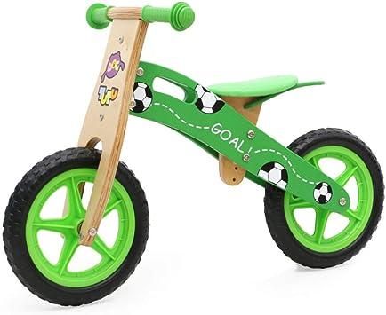 ABYYLH Bicicleta Infantil de Equilibrio sin Pedales Bike 2~6 Años Niños Balance Bike Madera: Amazon.es: Deportes y aire libre
