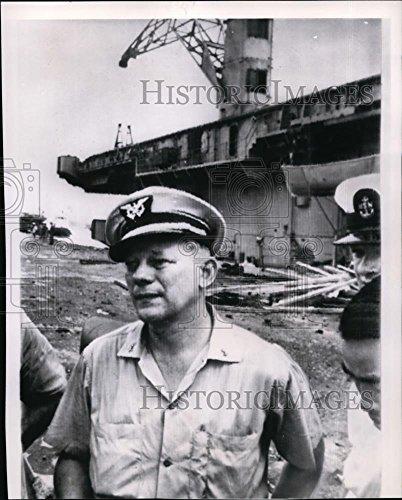 1964 Wire Photo Capt Borge Langeland Master of Communist Sabotaged Card