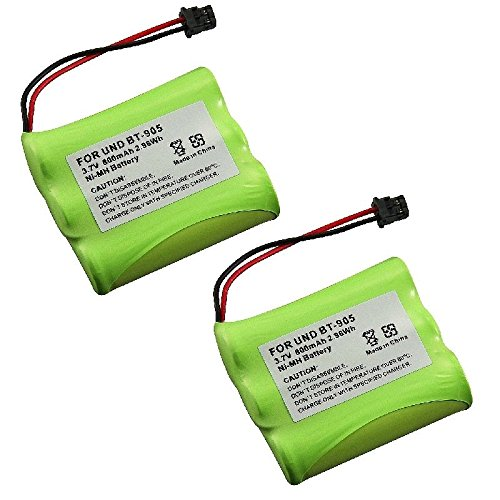 INSTEN 2 Cordless Phone Rechargeable Battery Compatible with Uniden - 5.8 Amp Ghz Cordless