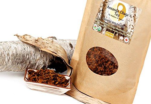 Annanda Chaga Mushroom Tea - Certified Organic (Chaga Syrup)