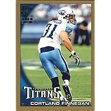 2010 Topps Gold #165 Cortland Finnegan /2010 - Football Card