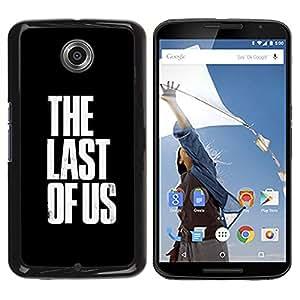 LECELL -- Funda protectora / Cubierta / Piel For Motorola NEXUS 6 / X / Moto X Pro -- Last Of Us --