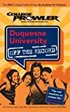 Duquesne University, Jonathan Doctorick, 1427400563