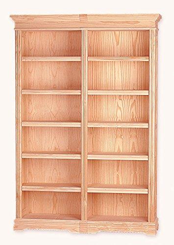 Muebles Natural - Librero Valentino 150, biblioteca neoclásica, de ...
