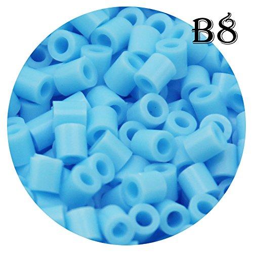 H&W 5mm Fuse Bead Refill Bag - Light Sky Blue 1500 Count (B8)