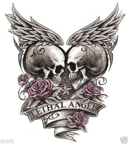 LETHAL ANGEL BUMPER STICKER