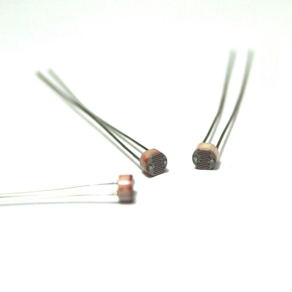 15 unidades de resistencia fotoconductora Cell Luz Dependiente 20 - 30 K LDR3 mm cerámica Pacakge: Amazon.es: Amazon.es