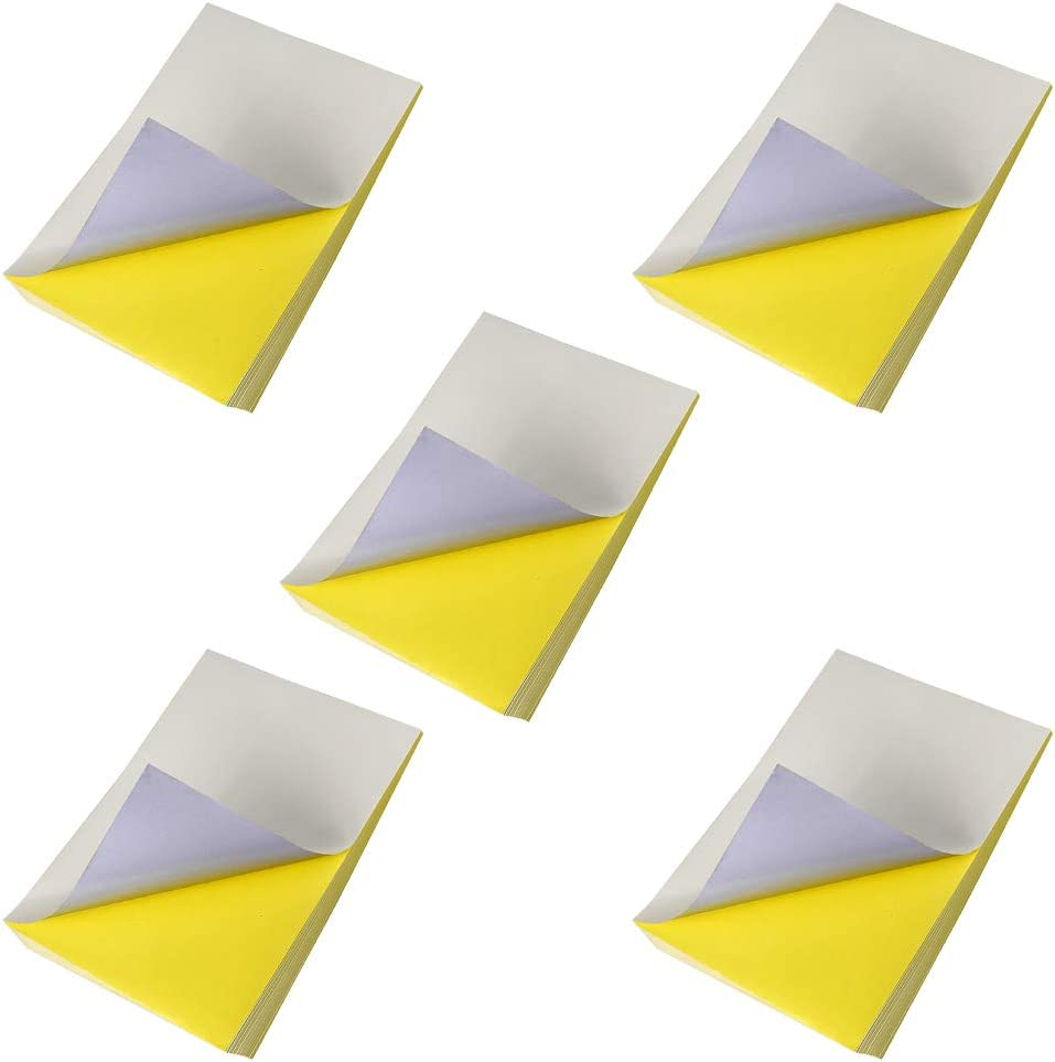 Papel de impresión A4, 50 hojas, blanco, impermeable, transparente ...