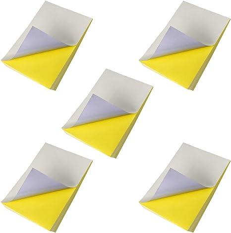 Papel de impresión A4, 50 hojas, blanco, impermeable, transparente, para impresión de chorro de tinta, trazado, dibujo de arquitectura, diseño gráfico: Amazon.es: Oficina y papelería