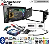 Volunteer Audio Pioneer AVH-501EX Double Din Radio Install Kit with DVD/CD Player Bluetooth Fits 2003-2005 Chevrolet Blazer, 2003-2006 Silverado, Suburban (Bose, Onstar, SWC)
