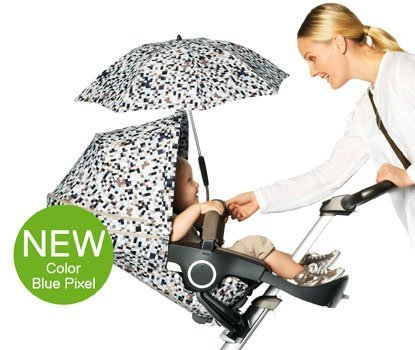 Stokke Xplory Summer Kit Pixel Blue by Stokke