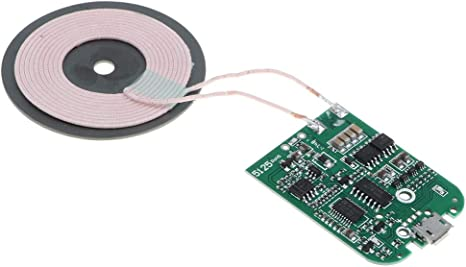 perfk Qi Wireless Charger Micro USB Portard Coil DIY: Amazon