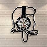 Jedfild The lovely art wall clock girl styling
