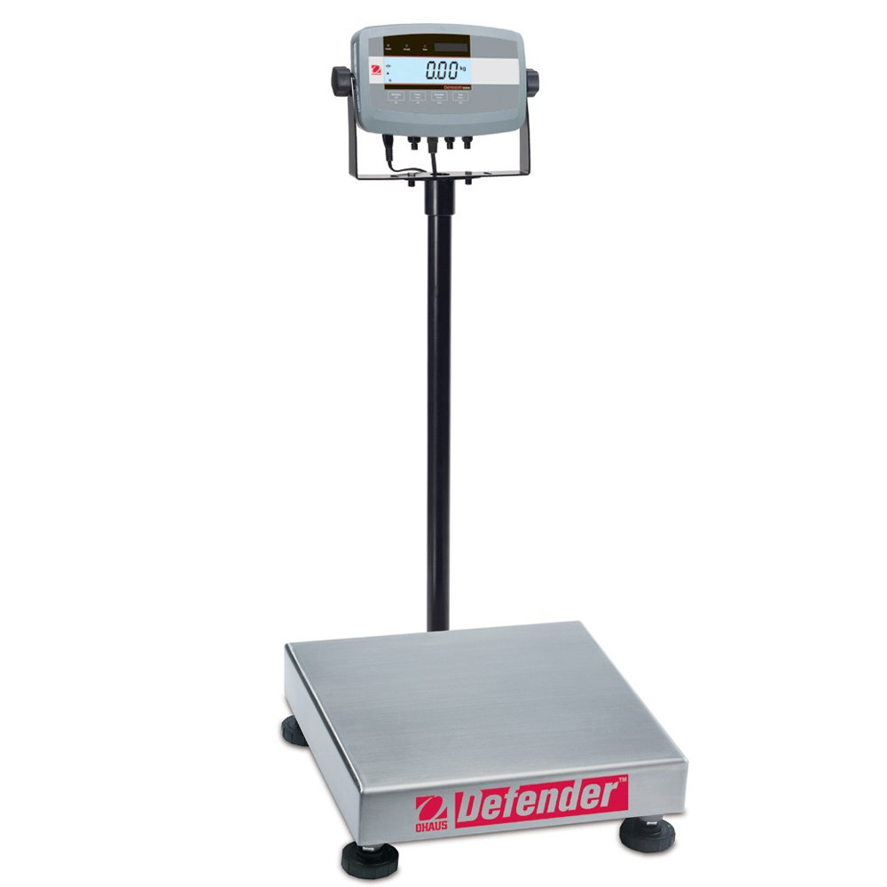 10000g x 1g Ohaus Defender ABS//304 Stainless Steel NTEP Certified Bench Scale