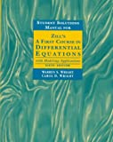 First Course in Differential Equations, Zill, Dennis G., 0534955789