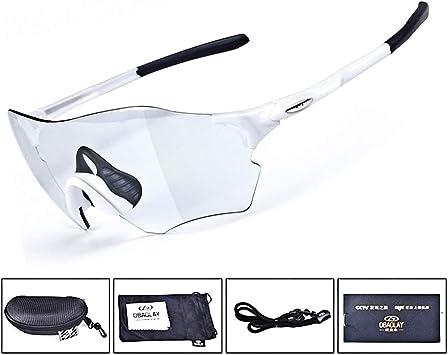 Lesrly-Cycle Gafas de Sol Deportivas fotocromáticas polarizadas ...