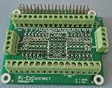 Pi-EzConnect - Raspberry Pi 2 and Raspberry Pi 3 GPIO connector. A HAT to connect GPIOs and sensors to Raspberry a Pi-2 or Pi-3.