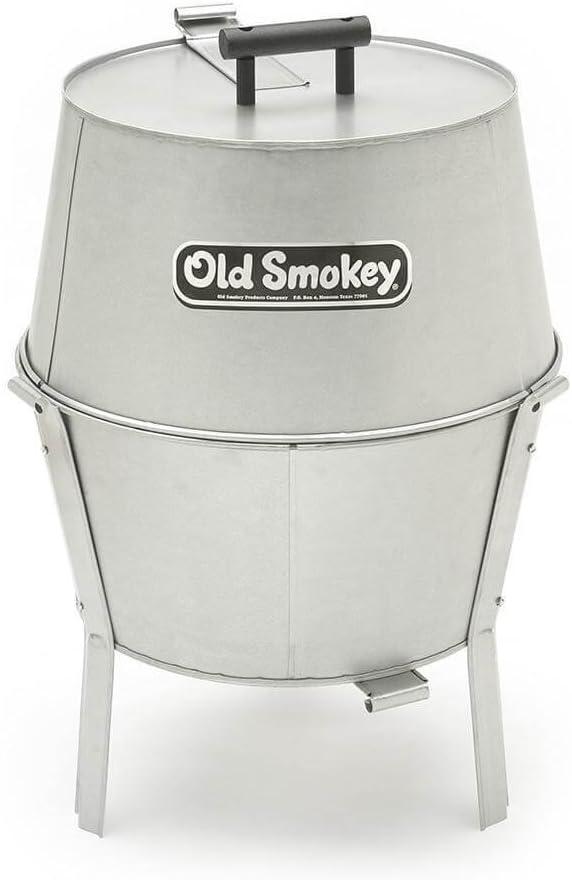 Old Smokey Charcoal Grill 18 Medium , White