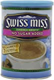 Swiss Miss Hot Cocoa Mix, Sensible Sweets, No Sugar Added, 13.8 oz., 6 Count